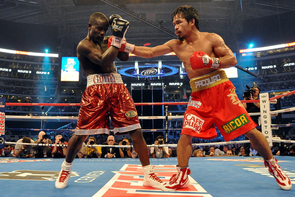 Joshua Clottey vs Manny Pacquiao March 13, 2010, Cowboys Stadium, Arlington, Texas